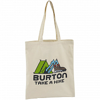 Burton SIMPLE TOTE CANVAS TAKE A HIKE