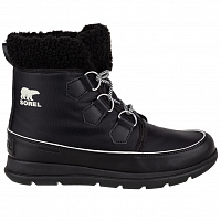 Sorel EXPLORER CARNIVAL Black, Sea Salt