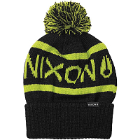 Nixon Teamster Beanie BLACK/LIME