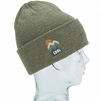 Coal THE DONNER BEANIE HEATHER OLIVE