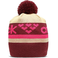 BLACK CROWS NOMEN BEANIE BURGUNDY/PINK