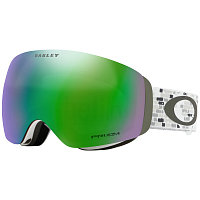 Oakley FLIGHT DECK XM LV SIG SNOWED IN STEALTH/PRIZM SNOW JADE IRIDIUM
