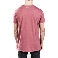 Mystic SKIM TEE RED DARK MELEE
