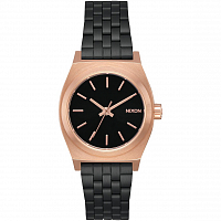 Nixon Small Time Teller Black/Rose/Black