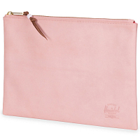 Herschel NETWORK LARGE - MESH Ash Rose Nubuck Leather
