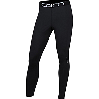 CAIRN WARM PANTS M BLACK WHITE LOGO