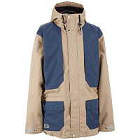 Airblaster AB/BC Jacket Quicksand/Navy Wax