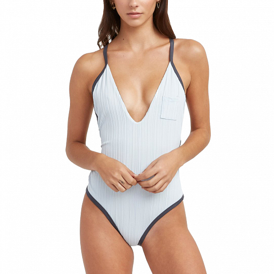 Купальник комплект RVCA LINEAR ONE PIECE SS19 от RVCA в интернет магазине www.traektoria.ru - 1 фото