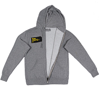 Ronix DIGITAL ZIP UP HOODY Heather Grey/Black/Yellow