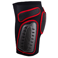 UFO PLASTIC PADDED SHORTS BLACK/RED