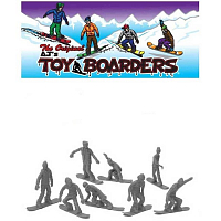 Toy Boarders SNOW 1 SLATE GRAY