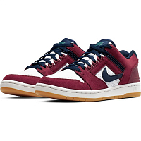 Nike SB AIR FORCE II LOW TEAM RED/OBSIDIAN-WHITE-SUMMIT WHITE