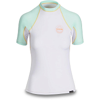 Dakine WOMEN'S FLOW SNUG FIT S/S PASTEL CURRENT