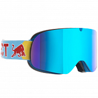 Spect RED BULL TRANXFORMER BLUE/BLUE SNOW - SMOKE WITH BLUE MIRROR