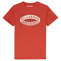 Billabong GUARDIANT TEE SS BOY RUSTIC RED
