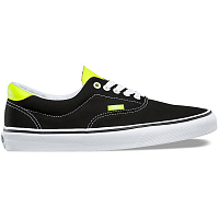 Vans ERA 59 (Neon Leather) black/neon yellow