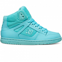 DC REBOUND HIGH J SHOE Aqua