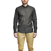 Makia ARCHIPELAGO SHIRT WASHED-BLACK