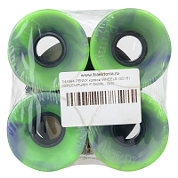 Penny Wheels GREEN/PURPLE SWIRL