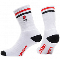 Element TOUGH LOVE SOCKS OPTIC WHITE