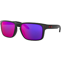 Oakley HOLBROOK Matte Black w/Positive Red Iridium