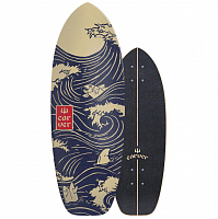 Carver SNAPPER SURFSKATE DECK ASSORTED