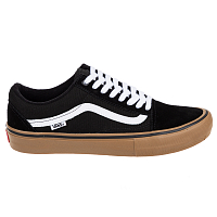 Vans MN OLD SKOOL PRO BLACK/WHITE/MEDIUM GUM