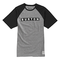Burton MB VAULT SS GRAY HEATHER