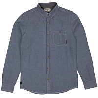 Billabong ALL DAY CHAMBRAY LS BLUE