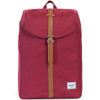 Herschel POST MID-VOLUME WINETASTING CROSSHATCH/TAN SYNTHETIC LEATHER