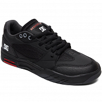 DC MASWELL M SHOE BLACK/WHITE/TRUE RED