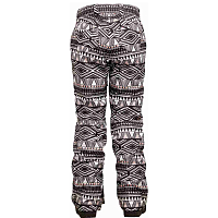 Bonfire EMERALD PANT EBONY AND IVORY PRINT
