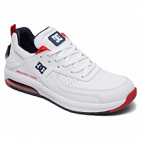 DC Vandium M Shoe WHITE/DC NAVY/TRUE RED