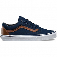 Vans OLD SKOOL (C&L) dress blues/material mix