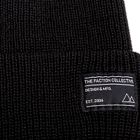 FACTION FISHERMAN'S BEANIE BLACK