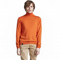 Makia ROLL NECK KNIT ORANGE