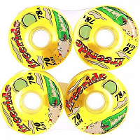 Sector9 FREERIDE 7 WHEELS YELLOW