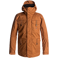 DC SERVO JKT M SNJT LEATHER BROWN