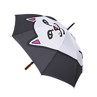 RIPNDIP LORD NERMAL UMBRELLA BLACK