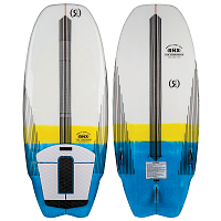 Ronix KOAL W/ TECHNORA - CROSSOVER White / Yellow / Blue