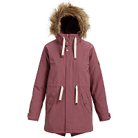 Burton W SAXTON PARKA ROSE BROWN