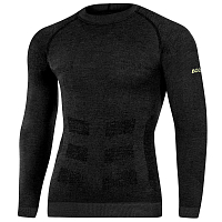 BodyDry EVEREST LONG SLEEVE SHIRT BLACK