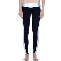 Glidesoul LEGGINGS 1 MM BLACK/SILVER