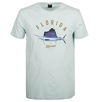 Rip Curl SURFING STATES SS TEE LIGHT BLUE