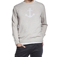 Makia ANCHOR MERINO KNIT L.GREY