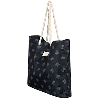 Roxy TROPICAL VIBE P J TOTE ANTHRACITE PEARLY TILES