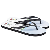 Rip Curl RATTLE SNAKE BLACK/WHITE