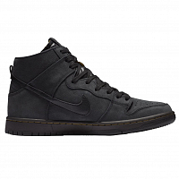 Nike ZOOM DUNK HIGH PRO DECON PRM BLACK/BLACK-VELVET BROWN-PEAT MOSS