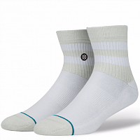 Stance UNCOMMON SOLIDS DOMAIN MID WHITE