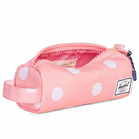 Herschel SETTLEMENT CASE Peach Polka Dot/Peacoat